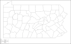 United States Blank Outline Map by Geography Blog Pennsylvania Outline Maps