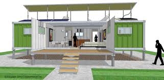shipping container home idea http www onarchitecturesite com