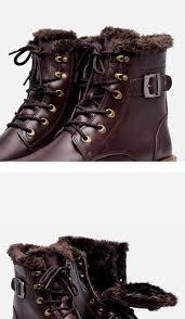 37 49 men winter boots plus size cow split motorcycle retro
