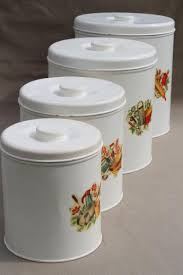 retro kitchen canisters set vintage kitchen canisters metal canister set tins w retro