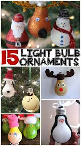 creative light bulb ornaments crafty morning