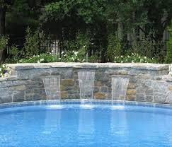 Beautiful Pool Backyards Triyae Com U003d Beautiful Backyard Swimming Pools Various Design