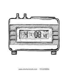 simple hand drawn doodle oven stock vector 389435428 shutterstock
