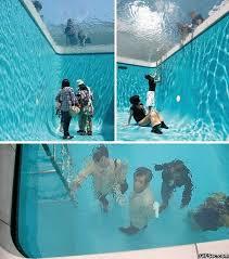 Swimming Pool Meme - so cool swimming pool meme funny humor glass see through fake