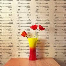 indian arrows allover wall pattern stencil diy wall decor diy