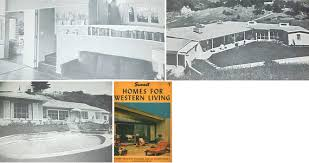 1950 homes for western living cliff may ranch house plans