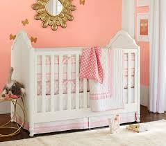 light pink crib bedding harper baby bedding pottery barn kids