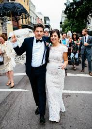 second line wedding new orleans jackson square wedding chrissy and nick andrea