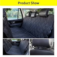 morpilot pet seat cover auto back rear seat barrier quilted