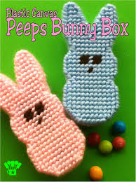 plastic canvas thanksgiving patterns easter peeps bunny box plastic canvas pattern everyday parties
