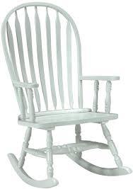 Unfinished Wood Rocking Chair Finished Rocking Chairs Unfinishedfurnitureexpo