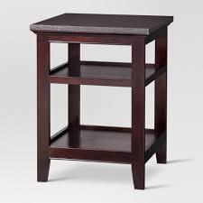 end table black 24 ore international rectangle end table intended for black 24 ore international target