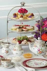 little tea table set time for tea my aunt marzine would set up a little tea party when