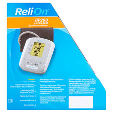 relion bp200 upper arm blood pressure monitor walmart com
