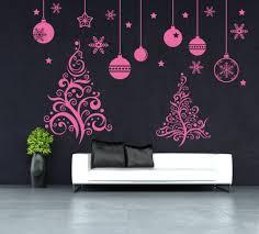 christmas tree shop window wall art decal wall stickers uk 230