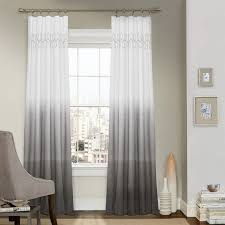 Grey Ombre Curtains Wonderful Grey Ombre Curtains Design 1 Amazing Laurel Embroidered