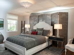 Bedroom Decorating Ideas Black And White Gray Master Bedrooms Ideas Hgtv