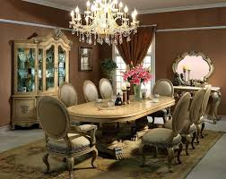 Dining Room Curtains Room Curtains For Modern Dining Room Design With Pendant Crystal