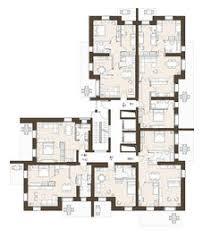 Apartment Building Floor Plans by Apartment Plans 30 200 Sqm U0026 Architecture Design Services