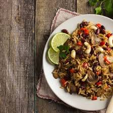 cuisine az com plat recette riz au curry haricots coco et chignons