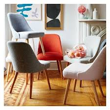 Best Fabric For Dining Room Chairs Other Brilliant Modern Upholstered Dining Room Chairs Regarding