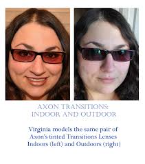 tinted glasses for light sensitivity axon transitions have our therapeutic tint which protects against