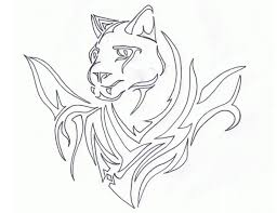 tribal panther designs