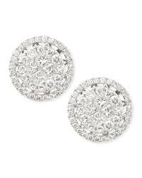 illusion earrings diamond platinum heart diamond stud earrings with illusion setting