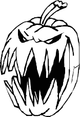 scary clipart black white pencil color scary clipart