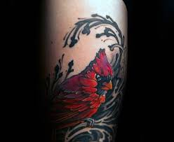 60 cardinal tattoo designs for men bird ink ideas
