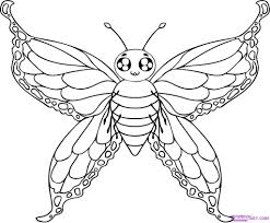 cartoon drawing butterfly cartoon drawing butterfly how to draw
