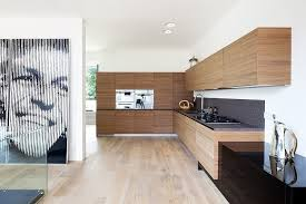 Architectural Kitchen Design by Bold Modern Architecture Details Adorning House N In Moscow