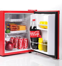 Coca Cola Home Decor Amazon Com Nostalgia Crf170coke Coca Cola 1 7 Cubic Foot