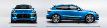 porsche macan length porsche macan sizes and dimensions guide carwow
