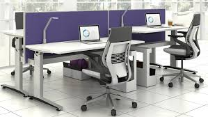 Standing And Sitting Desk Sit2stand Adjustable Office Desks Tables Steelcase Regarding Stand