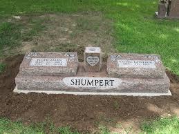grave marker raised grave marker with center vase in pink hallman