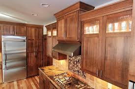 red oak wood nutmeg windham door quarter sawn kitchen cabinets