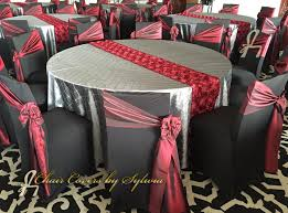 Chair Ties Chicago Chair Ties Sashes For Rental In Burgundy Two Tone Taffeta