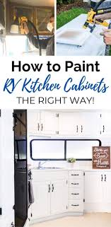 can you paint your kitchen cabinets without removing them how to paint rv cabinets the easy way joyful derivatives