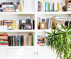 Bookshelf Styling Ask Estee Bookshelf Styling Mydomaine