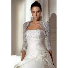 wedding dress jacket alluring half length sleeves lace grenadine wedding dress jacket