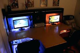 Custom Gaming Desks Custom Built Computer Desks Viscometer Co Intended For