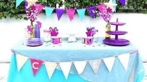 table decoration ideas for parties audacious birthday table decor pink purple ideas marvelous birthday