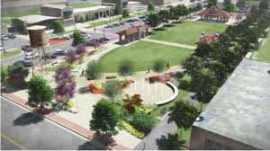 green plans muskogee plans new downtown green space tulsa s 24 hour news
