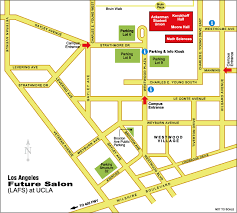 map of ucla directions and parking los angeles future salon lafs at ucla