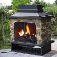 sunjoy sutton fire place