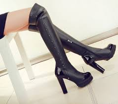 erica u0027s shoe store fashion boots over the knee high boots genuine