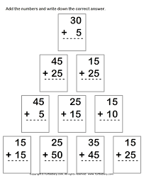 two digits addition worksheets 1st grade pinterest addition