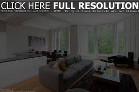 cool black and white open kitchen living room ideas home top