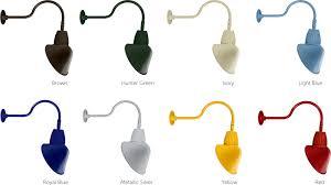 Outdoor Gooseneck Light Fixtures Led Outdoor Gooseneck Lights Rab Lighting